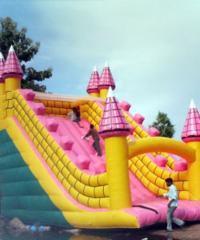 Inflatable Slide Bouncy Balloon
