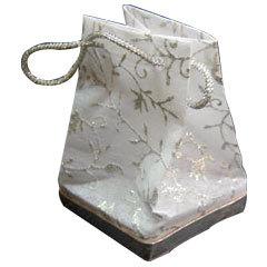 Handmade paper favor bags