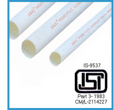 PVC Electrical Conduit Pipes & Fittings