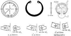 Internal Circlip : DIN 472 IS 3075