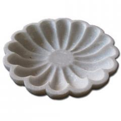 Marble Bowl Of Flower Shape