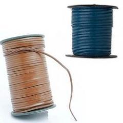 Flat Leather Cord