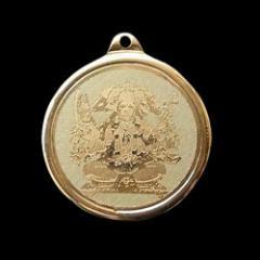 Religious brass pendant