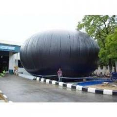 Biogas Balloons for Storage and Transportation