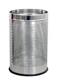 S.S. Dust Bin - Perforated