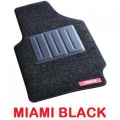 Miami Black Foot Mats FM-MIAMI-BLACK