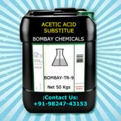 Acetic Acid Replacement : Bombay TR - 9