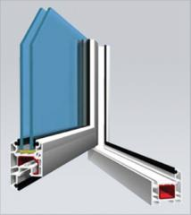 AD50 Casement Window (Outwards Opening) System