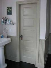 U-PVC Bathroom Door