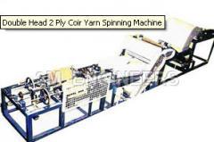 Double Head 2 Ply Coir Yarn Spinning Machine