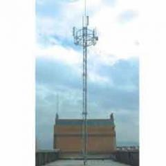 Guyed Mast Electrical Towers