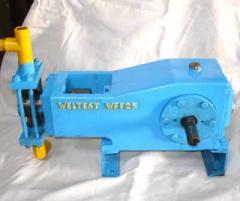 Motorized Pressure Test Pump