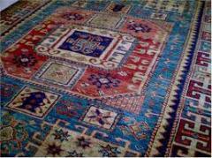 Half-woollen rugs