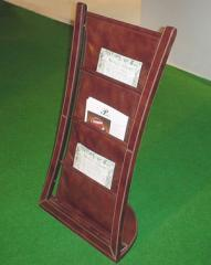 Leather Magazine Racks