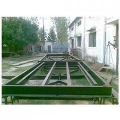 Cart weighbridge