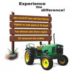 Agricultural Tractors - 5038 D (38 HP)