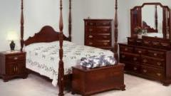 Classic colonial bed