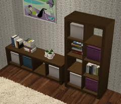Bookcase Decorative
