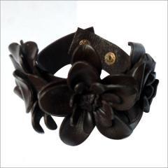 Leather products - Flower cuff