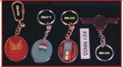 Metallic Key Chains