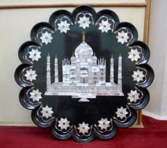 Black Stone Decorative Plate