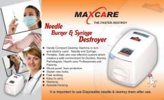Needle syringe destroyer