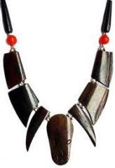 Ethnic Bone Handicraft Necklece