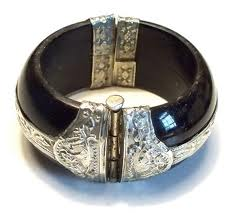 Vintage Black Horn jewellery