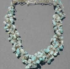 Semiprecious stone jewelry