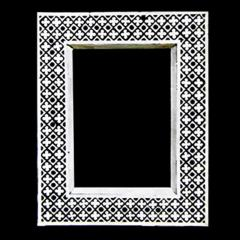 Bone Mirror Frame