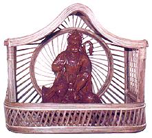 Temple & Statue