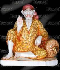 Sai Baba Marble Sculpture
