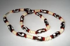 Bone Beeded Necklace