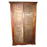 Carved Wooden Almirahs