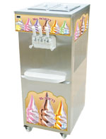 Twin Flavour Softy ice cream machine with Pump
