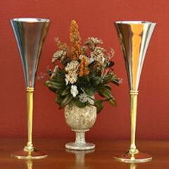 Gold Plated Brass Goblet