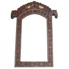 Wooden Mirror Frames, Horse Photo Frame Carving