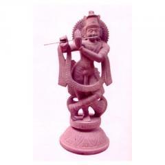 Stone  carving of dancing ganesh