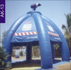 Kiosk, Bosch Blue Tent