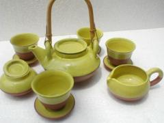Bencia yellow tea set