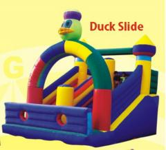 Inflatable, Duck Slide