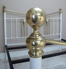 Brass bed knob