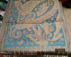 Super silk paisely design - Size : 30x165cm