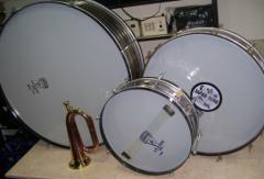 P.T. Bass Drum Set