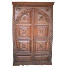 Wooden Handicraft Almirah