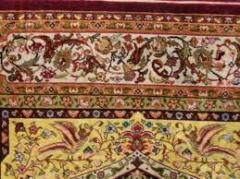 Silken carpets