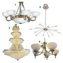 T-light Holders & Chandeliers