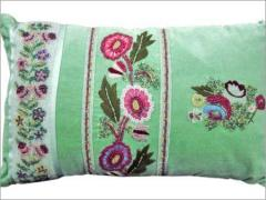 Embroidered Pillow Cover