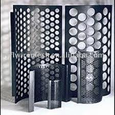 Galvanise Steel Perforated Sheet