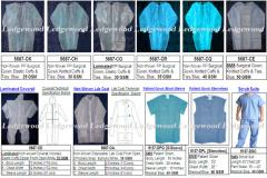 Disposable Non-Woven Surgical Gowns